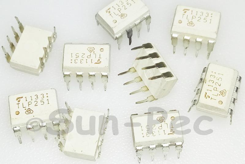 TLP251F TOSHIBA Photocoupler GaAlAs Ired & Photo IC 10V-35V 11A DIP-8 5pcs