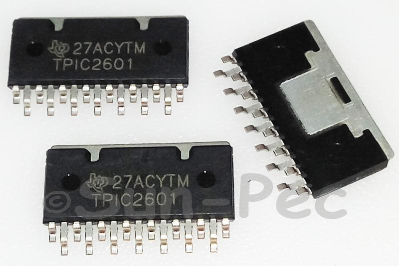 TPIC2601 TI 6-CHANNEL COMMON-SOURCE POWER DMOS ARRAY ZIP-15