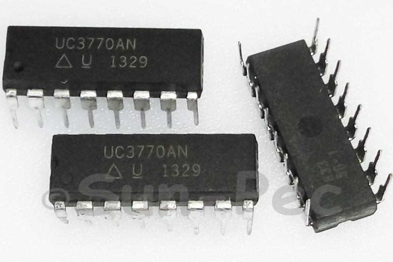 UC3770AN TI/UC Brushless motor predriver DIP-16 1pcs