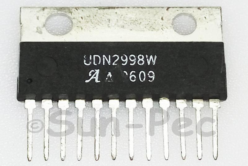 UDN2998W Allegro DUAL FULL-BRIDGE MOTOR DRIVER 50V +-3A ZIP-12 1pcs