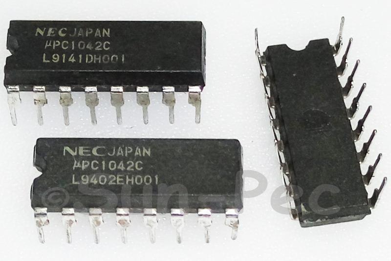 UPC1042C NEC SWITCHING REGULATOR CONTROL CIRCUIT DIP 1pcs
