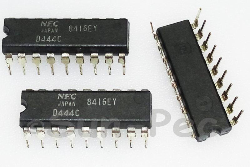 UPD444C NEC DIP 4M-BIT CMOS FAST SRAM 1M-WORD 4-BIT 1pcs