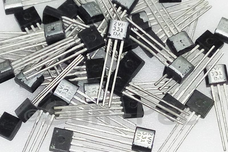 ZVP3310A ZETEX P-CHANNEL ENHANCEMENT MODE VERTICAL DMOS FET 100V TO-92 6pcs
