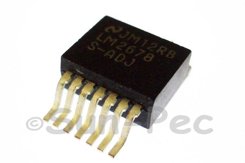 LM2678S-ADJ NSC SIMPLE SWITCHER Step Down Voltage Regulator 5A TO-263 1pcs