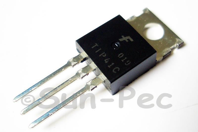 TIP41C Bipolar Transistor 100V 6A NPN TO220 1pcs - 10pcs