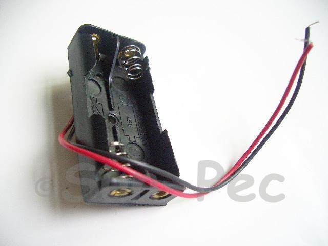 Battery Box with wire 3V AAA x 2 1pcs - 8pcs