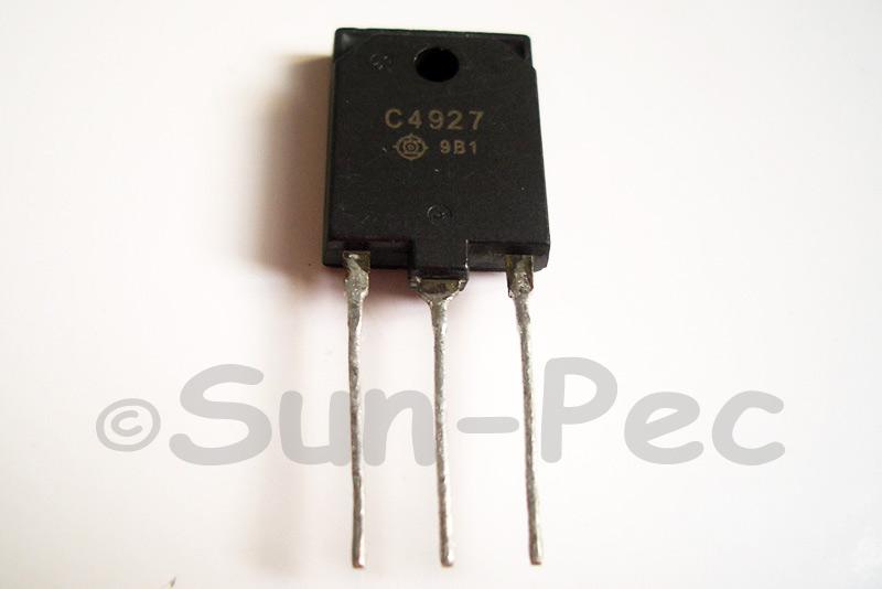 2SC4927 HITACHI Silicon NPN Triple Diffused 1500V 50W 8A TO-3P 1pcs