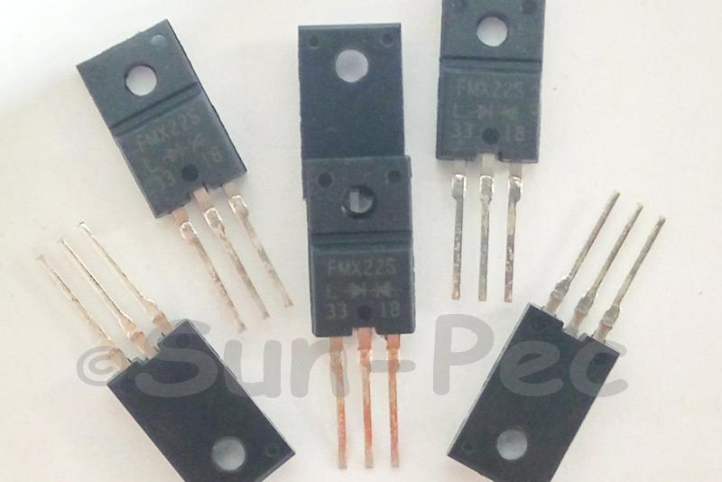 FMX22S Sanken 10A TO-220 1pcs - 6pcs