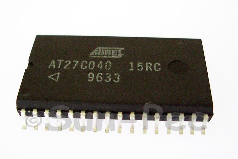 AT27C040-15RC ATMEL 4-Megabit 512K x 8 OTP EPROM 5V 30mA SOP-32 1pcs