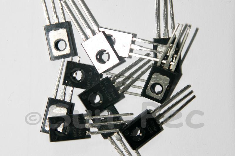 BD137 Power Transistor NPN TO-126 15pcs