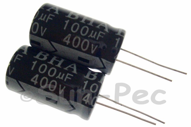 400V 100uF Electrolytic Capacitor E-Cap +-20% 18x32mm 1pcs - 3pcs