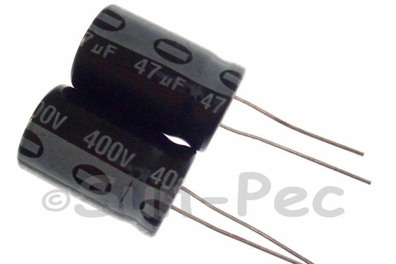 400V 47uF Electrolytic Capacitor E-Cap +-20% 16x25mm 1pcs - 5pcs