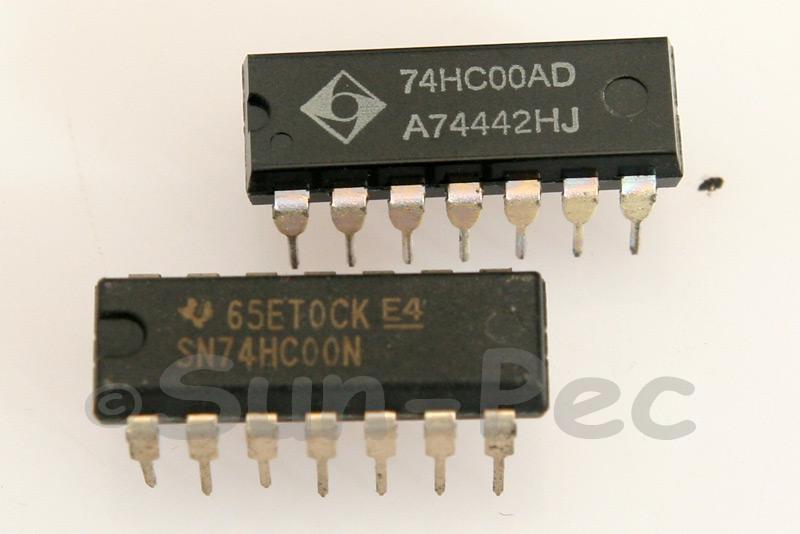 74HC00 DIP14 2pcs - 6pcs