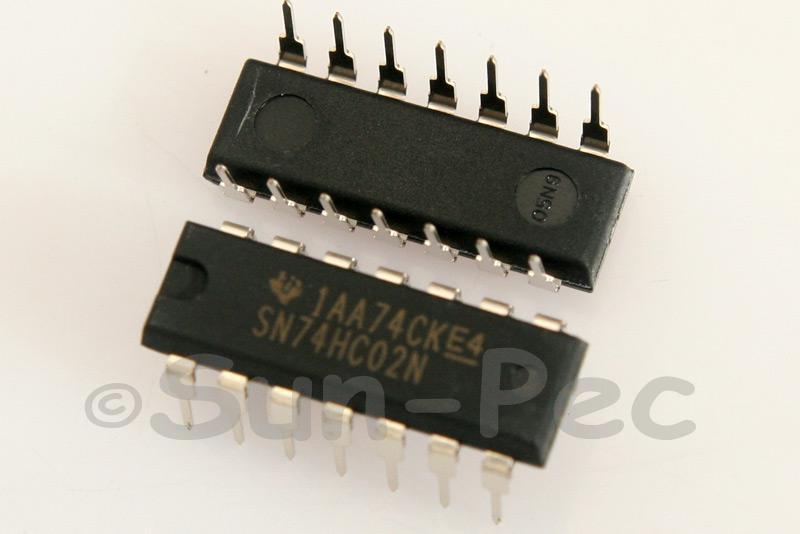 74HC02 DIP14 2pcs - 6pcs