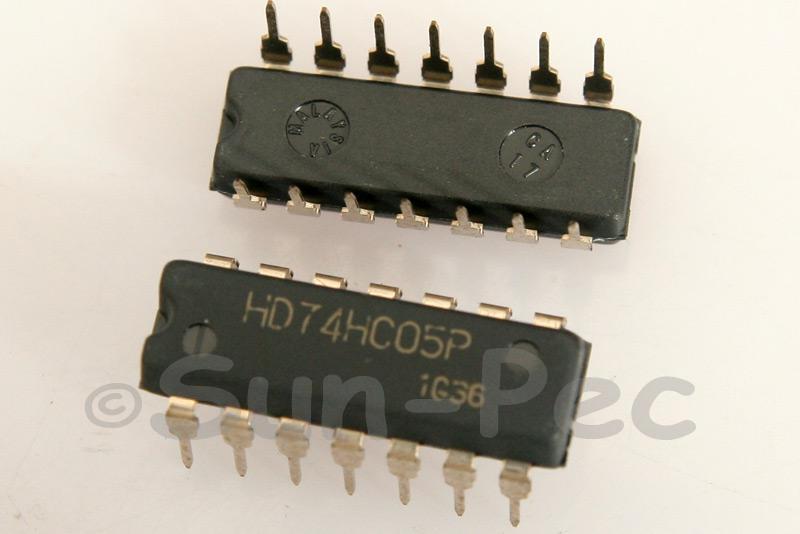 74HC05 DIP14 2pcs - 6pcs