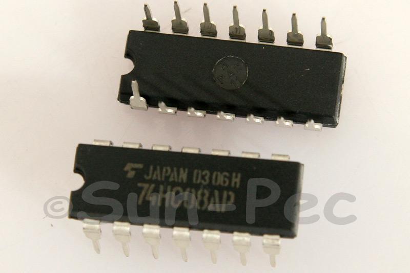 74HC08 DIP14 2pcs - 6pcs