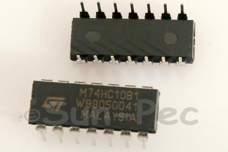 74HC10 DIP14 2pcs - 6pcs