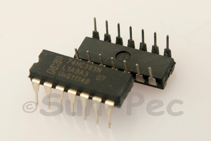 74HC393 DIP14 2pcs - 6pcs