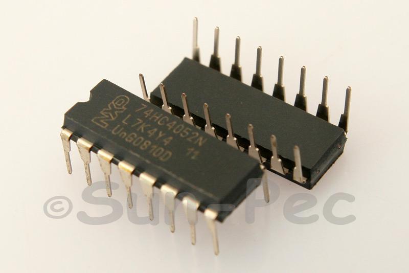 74HC4052 DIP16 2pcs - 6pcs