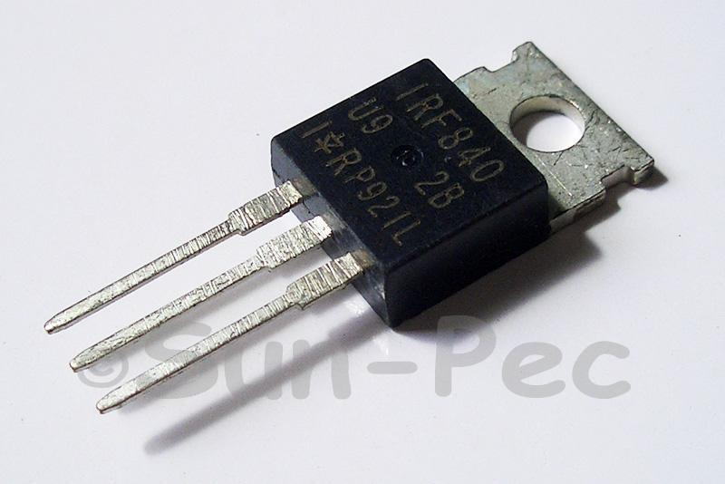 IRF840 N-Channel power Mosfet 500V 8A TO220 2pcs - 6pcs
