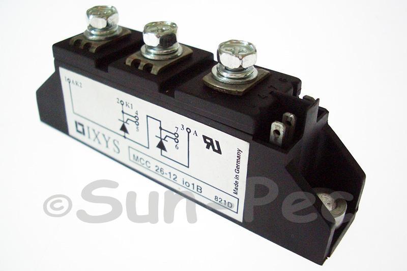MCC26-12IO1B IXYS Thyristor Modules MCC 26-12 Io1B 1200V TO-240AA 1pcs