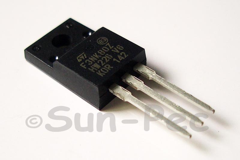 F3NK80Z ST MODULE TO-220F 1pcs - 2pcs