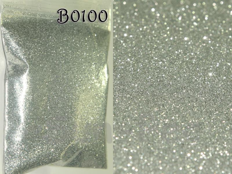 Silver B0100 Fine Glitter for Crafts/Embellishments 5g - 100g