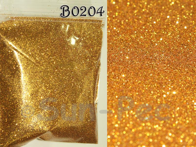 Bright Gold B0204 Fine Glitter for Crafts/Embellishments 5g - 100g