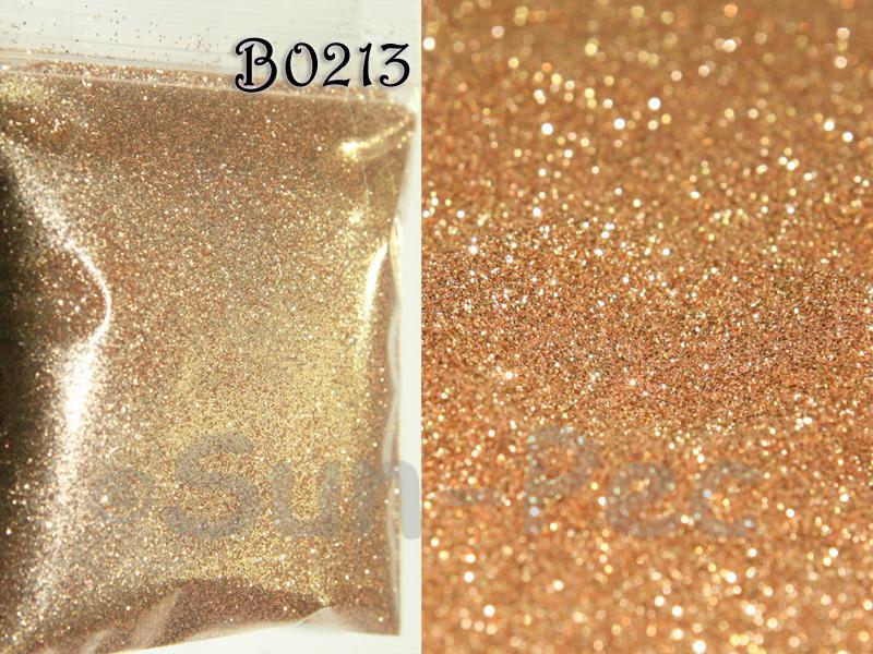 Bronze Gold B0213 Fine Glitter for Crafts/Embellishments 5g - 100g