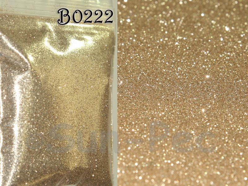 Light Gold B0222 Fine Glitter for Crafts/Embellishments 5g - 100g