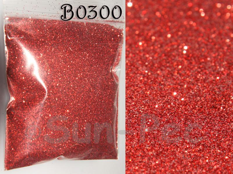 Scarlet B0300 Fine Glitter for Crafts/Embellishments 5g - 100g