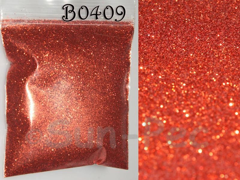 Red B0409 Fine Glitter for Crafts/Embellishments 5g - 100g
