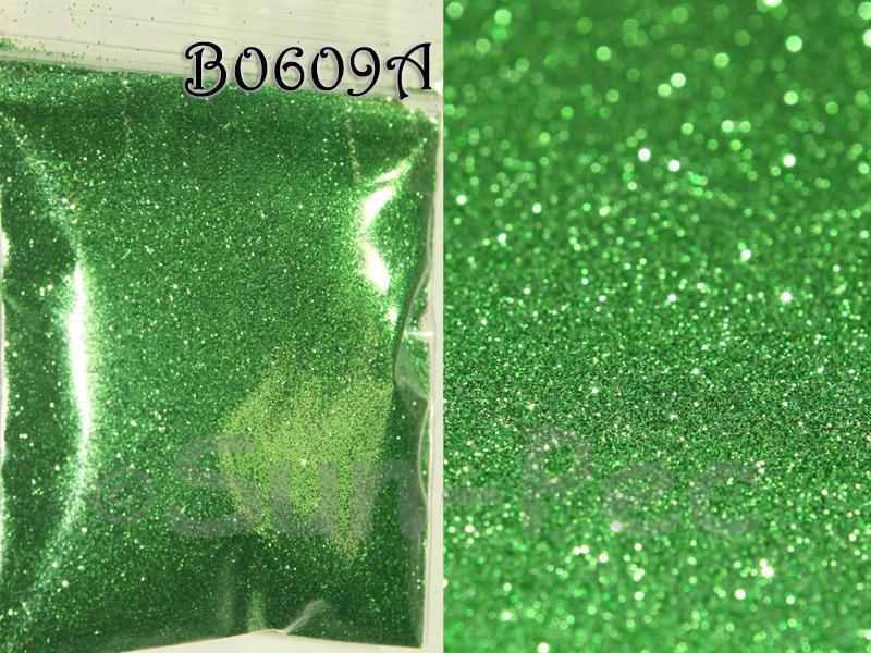 Bright Green B0609A Fine Glitter for Crafts/Embellishments 5g - 100g