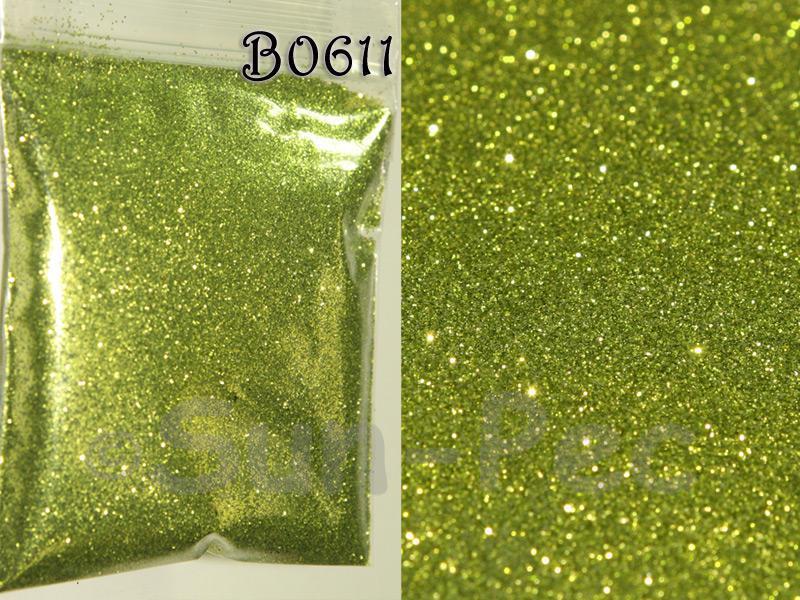 Army Green B0611 Fine Glitter for Crafts/Embellishments 5g - 100g