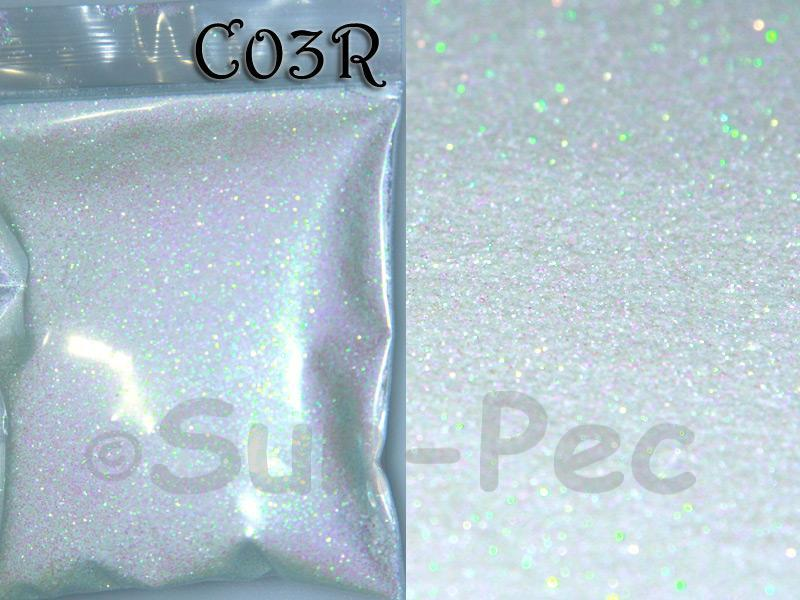 White Pearl C03R Fine Glitter for Crafts/Embellishments 5g - 100g