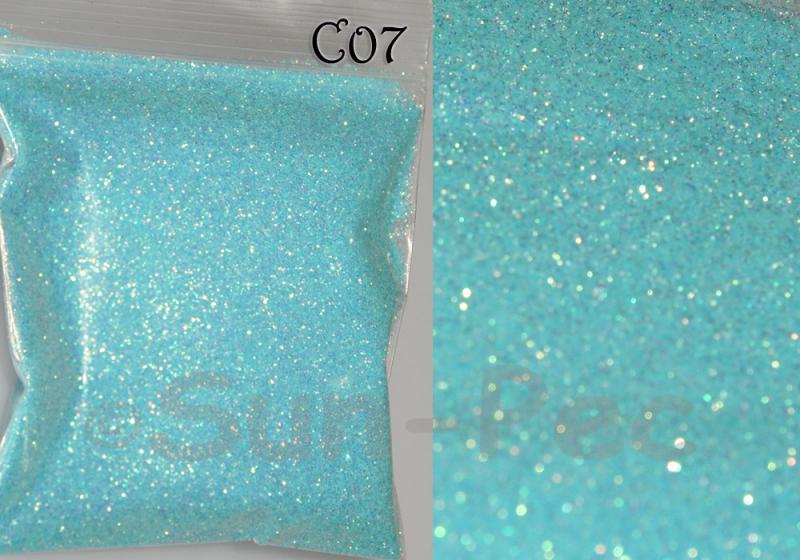 Baby Blue C07 Fine Glitter for Crafts/Embellishments 5g - 100g