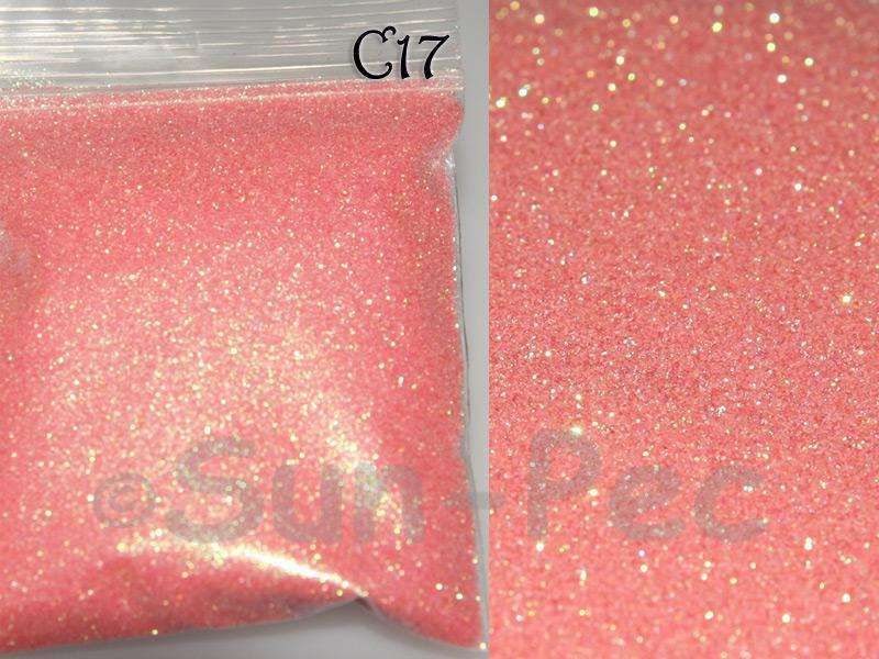 Soft Pink C17 Fine Glitter for Crafts/Embellishments 5g - 100g