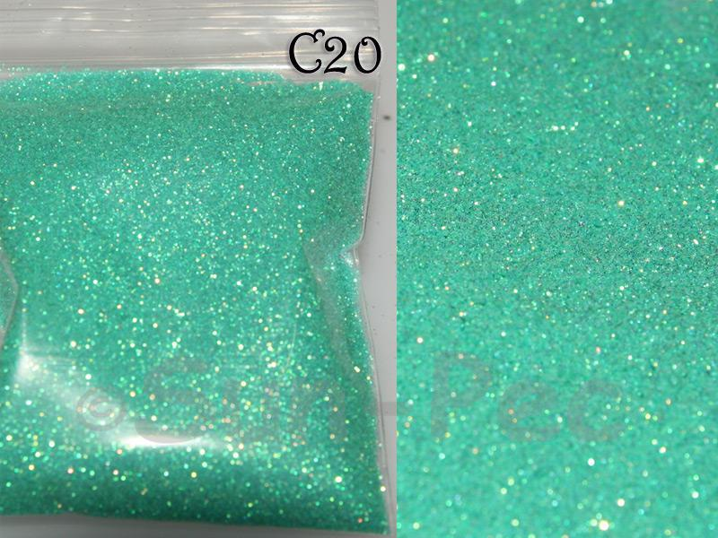 Teal C20 Fine Glitter for Crafts/Embellishments 5g - 100g