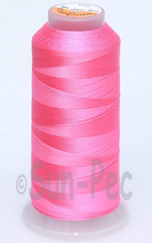 Pink T70 (v#69) Bonded Nylon Sewing Thread 210D/3 1500 yard spool