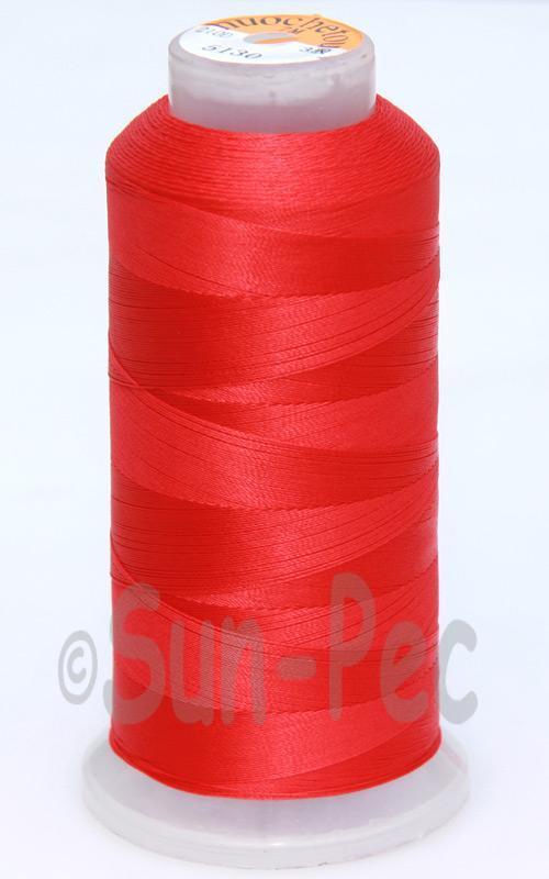 Red T70 (v#69) Bonded Nylon Sewing Thread 210D/3 1500 yard spool