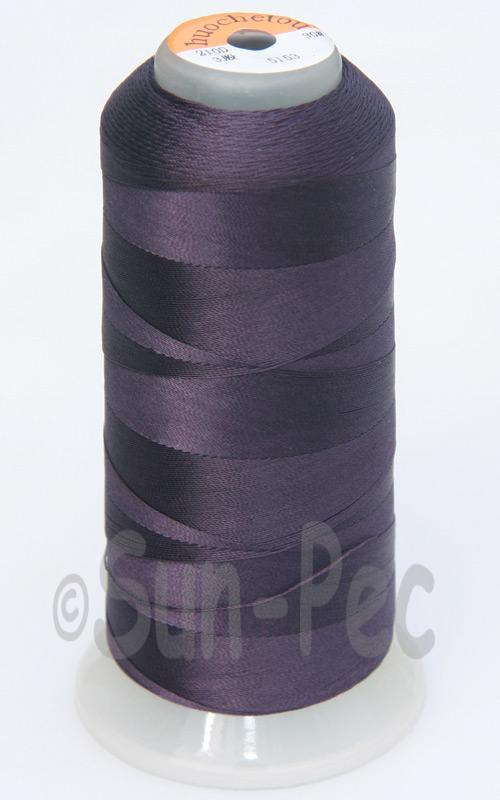 Midnight Purple T70 (v#69) Bonded Nylon Sewing Thread 210D/3 1500 yard spool