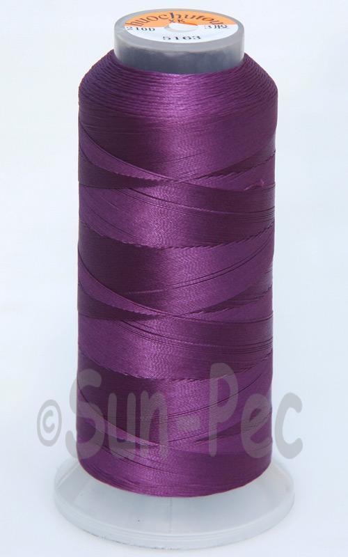 Purple T70 (v#69) Bonded Nylon Sewing Thread 210D/3 1500 yard spool