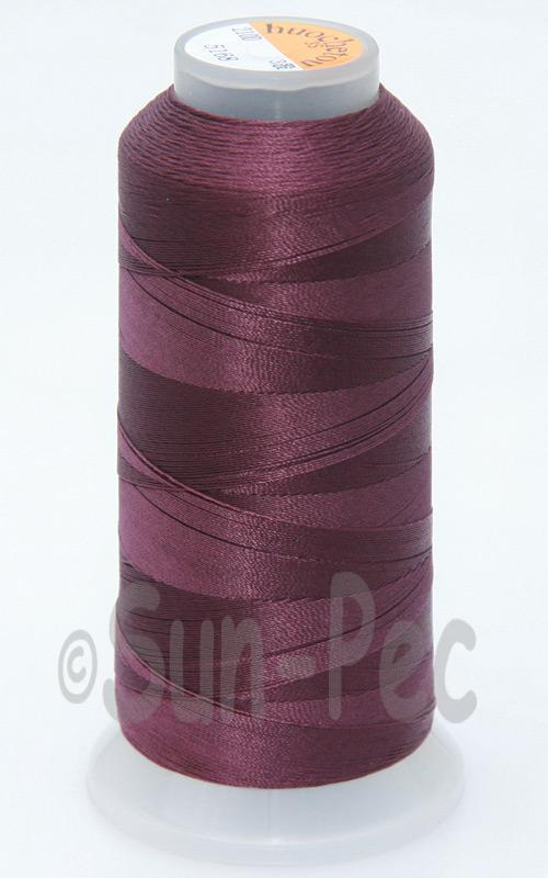 Dark Mauve T70 (v#69) Bonded Nylon Sewing Thread 210D/3 1500 yard spool