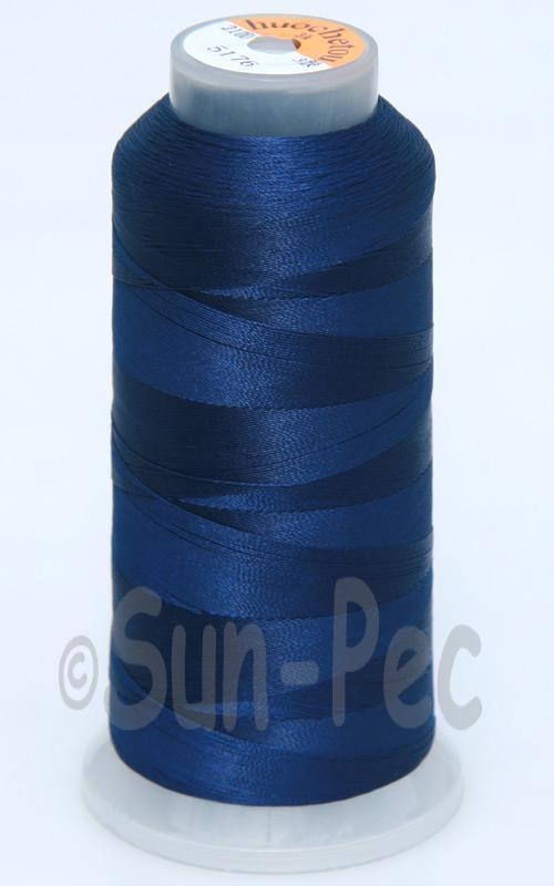 Navy Blue T70 (v#69) Bonded Nylon Sewing Thread 210D/3 1500 yard spool