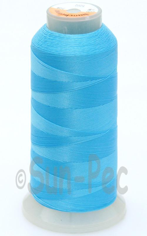 Blue T70 (v#69) Bonded Nylon Sewing Thread 210D/3 1500 yard spool