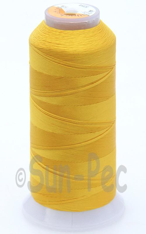 Golden Yellow T70 (v#69) Bonded Nylon Sewing Thread 210D/3 1500 yard spool