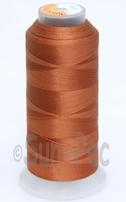Coffee T70 (v#69) Bonded Nylon Sewing Thread 210D/3 1500 yard spool
