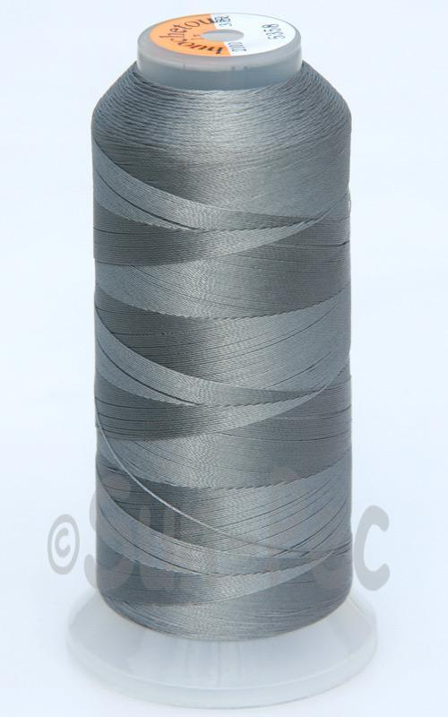 Dark Gray T70 (v#69) Bonded Nylon Sewing Thread 210D/3 1500 yard spool