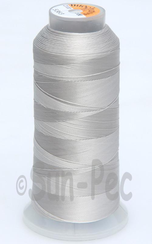 Gray T70 (v#69) Bonded Nylon Sewing Thread 210D/3 1500 yard spool