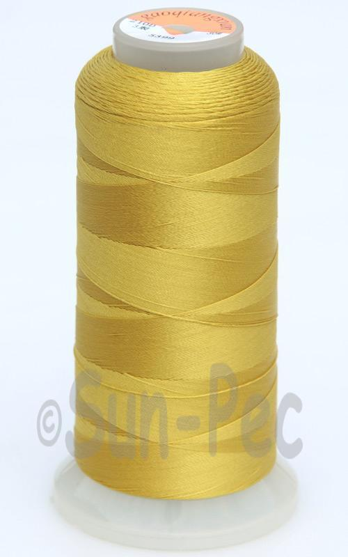 Dusty Yellow T70 (v#69) Bonded Nylon Sewing Thread 210D/3 1500 yard spool